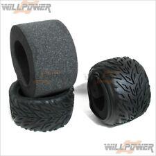 Monster Truck Tyres Tires w/ Foam #BT-502 (RC-WillPower) HOBAO Hyper MT