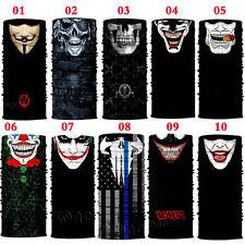 Joker CLOWN Ghost Biker Skull Hood Face Mask Ski Balaclava CS Sport Helmet Mask