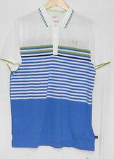 New with Tags 2014 Puma Cb Stripe Polo Shirt, Blue Aster, 565493 03