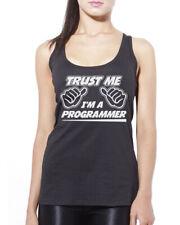 Trust Me I'm a Programmer Womens Vest Tank Top