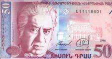 ARMENIE billet neuf 50 DRAM opera ARAM KHACHATURIAN Pick41 Mt ARARAT 1998