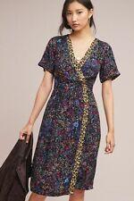 cea1a82eb838 NWT ANTHROPOLOGIE by MAEVE Morgan Dress,Floral, Multi Pink,Blue,Black Sz