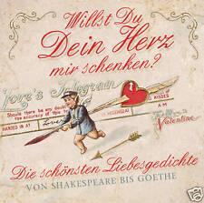 CD Die Migliore Poesie d'amore di tutti Volte letto di Sven Görtz