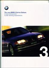 + + RIDUZIONE + + BMW 3 SERIES (compreso se) E46 AUTO Brochure 1998