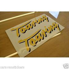ERIBA Touring - (SCRIPT STYLE)- Caravan Roof Name Sticker Decal Graphic - SINGLE