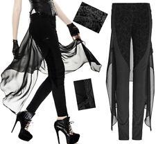 Pantalon jupe gothique lolita baroque fashion voilage jacquard broderie Punkrave