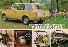 Lada 1200 Estate 1975-76 UK Market Leaflet Sales Brochure