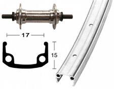 bike-parts 27″ roue avant jante en aluminium + Standard alu-nabe (plein Axe)