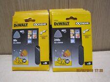 Dewalt DTM3092 3093 3095 93x93mm triangular delta sander sheets 80G 120G 240G