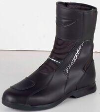 Prexport Krios Black Leather Motorcycle Waterproof Boots New RRP £109.99!!!
