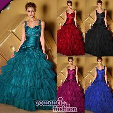 ♥Ballkleid, Abendkleid Größe 34 bis 58 und 5 Farben zur Auswahl+NEU+SOFORT♥