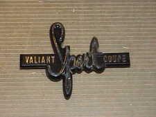 1970 70 Plymouth Duster VALIANT SPORT COUPE Emblem NOS MoPar