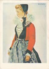 * COURMAYEUR - Costume Valle d'Aosta - Ill.Musati