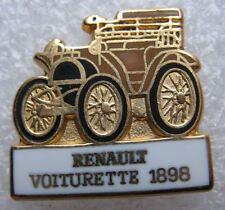 Pin's Voiture RENAULT VOITURETTE de 1898 Paris #B4