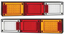PAIR LED COMBO LIGHTS TRUCK TRAILER SEMI FLOAT J3BARWM