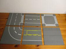 (HK) Lego plaques 32x32 au choix rues Strassenplatten gris foncé