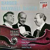 Barber / Maxwell Davies: Violin Concertos