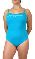 Emporio Armani  Badeanzug Einteiler mit Spaghettiträger Gr. XS S M L in 3 Farben