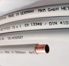 Kupferrohr ummantelt im 25 mtr. Ring WICU Rohr Handwerkerqualität