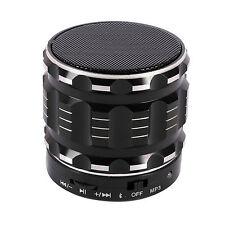 S28 Portable Bluetooth Speaker Metal Steel Wireless Smart Handfree Speaker Black