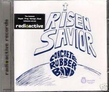 concrete rubber band - risen savior + 12   CD