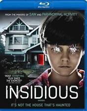 DVD: Insidious [Blu-ray] [Blu-ray] (2011), . Very Good Cond.: