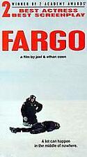 Fargo (VHS, 1996) William H. Macy, Steve Buscemi, Frances McDormand