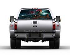 Skeleton Pirate Car Rear Window Graphic Decal Sticker Truck SUV Van Ship 063
