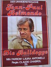 DIE BULLDOGGE - Jean-Paul Belmondo - Filmplakat A1