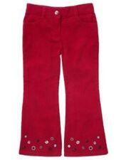 GYMBOREE~HOLIDAY PANDA RED CORDUROY CORDS PANTS~4~NWT