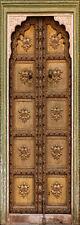 Sticker vielle porte orientale trompe l'oeil réf 517