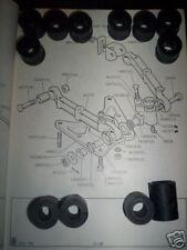 (x12) TRIUMPH TR4a TR250 TR6 Front SUSPENSION INNER WISHBONE BUSHES Bush Kit