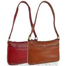 NEW Ladies LEATHER Handbag Shoulder Bag by Sirco Leatherwares Classic Handy