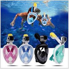 Masque de plongée integral  Masque de plongée autonome anti buée go pro
