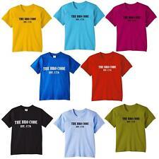 Los niños T-Shirt the bro código How I Met Your Mother est. 1776 Kids chicas jóvenes