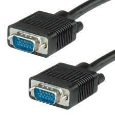 1.5 m 1.8 M 2M 2.5 M 3M VGA SVGA Cavo Lead per monitor CRT Monitor LCD PROIETTORE TV