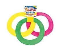 Scagliare un Anello Cerchio la Hoop Dog Puppy FRISBEE VINILE Avventura & Fetch Toy