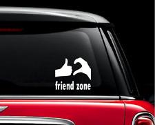 Friend Zone Car Stickers For Auto Vehicle Window Vinyl Waterproof Decals