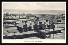 Canada NB MONCTON Railway station PPC