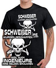 T-Shirt SCHWEIßER WURDEN GESCHAFFEN WEIL .. FUN Arbeit Spruch Kleidung Werkzeug