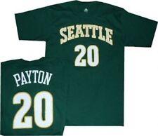 Seattle SuperSonics Gary Payton Throwback Adidas Dark Green T Shirt