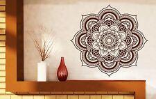 Wall Vinyl Sticker Mandala Enzo Circle Ornamental Floral Delicate Decor (n336)