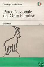 CARTINA PARCO NAZIONALE DEL GRAN PARADISO SCALA 1:100.000 VALLE D'AOSTA (NUOVA)