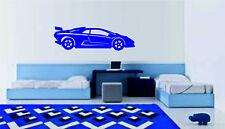 Lamborghini car wall art sticker decal bedroom lounge graphic large transfer kid