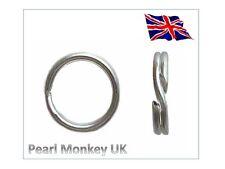 925 Sterling Silver Split Ring for Charms Pendants - Diameter 5mm, 6mm, 7mm, 8mm