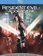 Resident Evil: Apocalypse [Blu-ray] DVD, Milla Jovovich, Sienna Guillory, Eric M