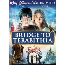 WALT DISNEY BRIDGE TO TERABITHIA DVD J.HUTCHERSON-A.ROBB-R.PATRICK-DESCHANEL W/S