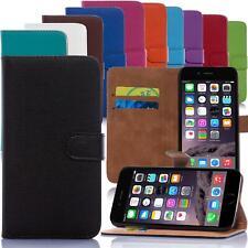Handy Tasche für Apple und HTC Flip Cover Mobile Case Schutz Hülle Etui Wallet