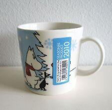 Arabia Finland moomin mug Christmas 2010, Skiing Competition / Hiihtokilpailu