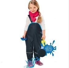 Rain Pants Kids Waterproof Windproof Outdoor Trousers Children Overall Outerwear